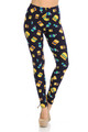 Wholesale Buttery Soft Fast Food Leggings