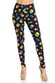 Wholesale Buttery Soft Fast Food Plus Size Leggings