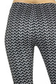 Close-up fabric image of Wholesale Soft Double Brushed Chain Mail Leggings