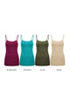 Wholesale Adjustable Strap Cotton Camisole - 33 Inch