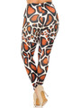 Wholesale Creamy Soft Giraffe Print Extra Plus Size Leggings - 3X-5X - USA Fashion™