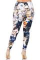 Wholesale Creamy Soft Cat Collage Plus Size Leggings - USA Fashion™