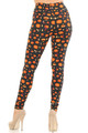 Wholesale Buttery Soft Pumpkins Cauldrons and Candles Halloween Leggings