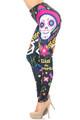 Wholesale Creamy Soft Day of the Dead Leggings - USA Fashion™