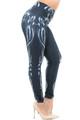 Wholesale Creamy Soft Black Bio Mechanical Skeleton Extra Plus Size Leggings (Steam Punk) - 3X-5X - USA Fashion™