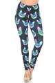 Wholesale Creamy Soft Neon Cats Leggings - USA Fashion™