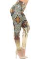 Wholesale Creamy Soft Gaia Mucha Plus Size Leggings - USA Fashion™
