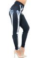 Wholesale Creamy Soft X-Ray Skeleton Bones Plus Size Leggings - USA Fashion™
