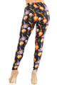 Wholesale Buttery Soft Pumpkins Witch's Watercolor Halloween Leggings