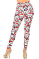Wholesale Creamy Soft Frosty Santa Rudolph Extra Plus Size Leggings - 3X-5X - USA Fashion™
