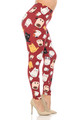 Wholesale Buttery Soft Cartoon Kitty Cats Plus Size Leggings