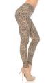 Wholesale Buttery Soft Savage Leopard Plus Size Leggings