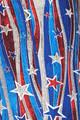 Wholesale Buttery Soft Metallic USA Flag Bell Bottom Leggings