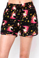 Wholesale Buttery Soft Twinkle Unicorn Dolphin Shorts