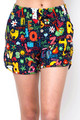 Wholesale Buttery Soft Animal Letters Dolphin Shorts
