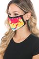 Wholesale Colorful Paint Graphic Print Face Mask
