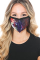 Wholesale Odyssey Galaxy Graphic Print Face Mask