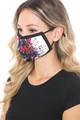 Wholesale Painted Lion Graphic Print Face Mask