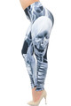 Wholesale Creamy Soft Skeleton Resurrection Plus Size Leggings - USA Fashion™
