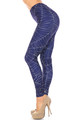Wholesale Creamy Soft Spiderwebs Halloween Plus Size Leggings - By USA Fashion™