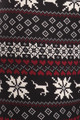 Wholesale Soft Fleece Reindeer Dashing Through the Snow Holiday Leggings