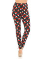 Wholesale Buttery Soft Mocha Cappuccino Christmas Leggings