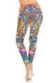 Wholesale Creamy Soft Gods of Egypt Plus Size Leggings - USA Fashion™