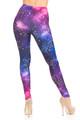 Wholesale Creamy Soft Unicorn Galaxy Plus Size Leggings - USA Fashion™