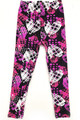 Wholesale Buttery Soft Stars and Plaid Hearts Kids Leggings