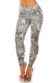 Wholesale Sleek Snakeskin High Waisted Sport Scrunch Leggings