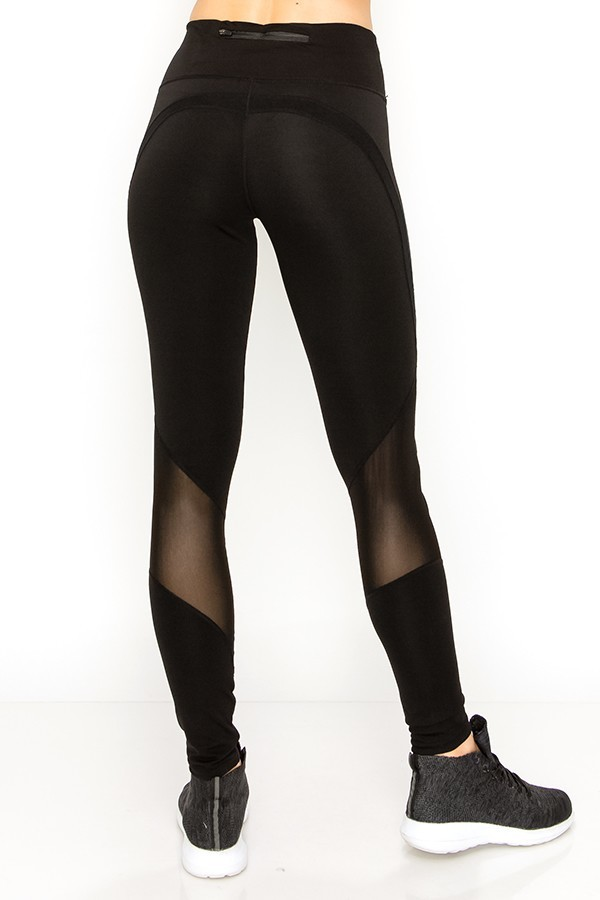 be1e4983de Wholesale Sport Mesh Performance Women's Workout Leggings | Leggings ...