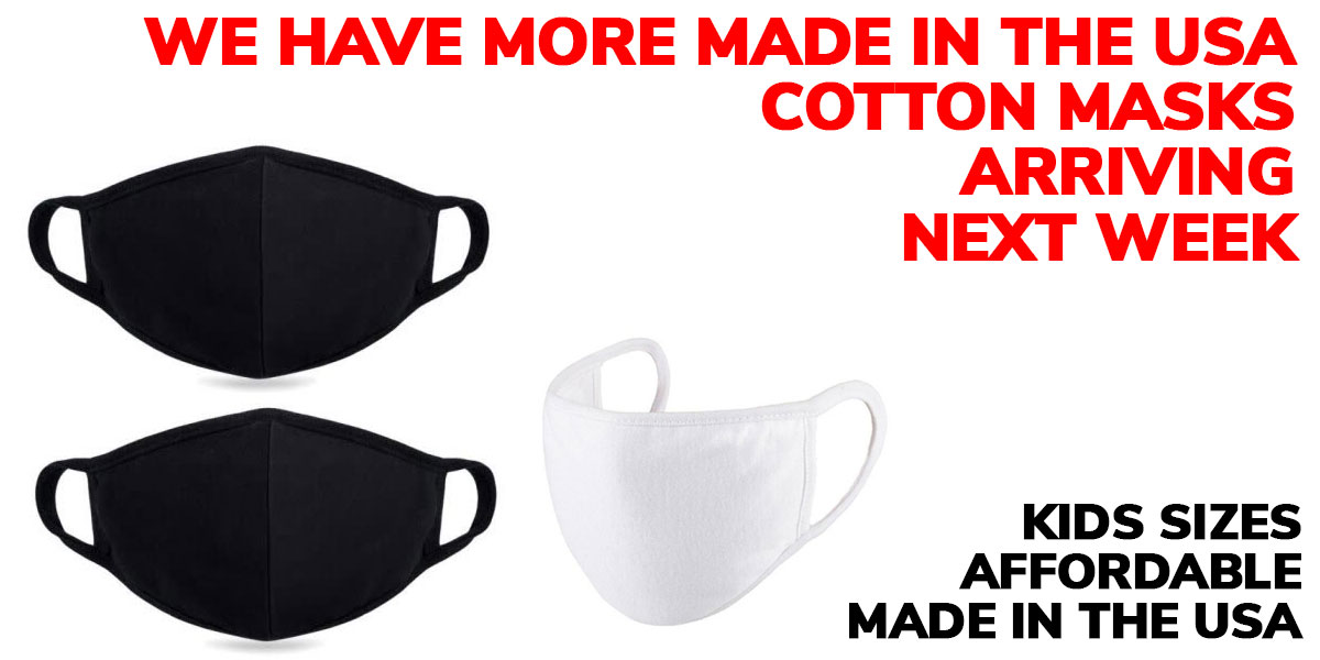 Shop Made in the USA Cotton Masks