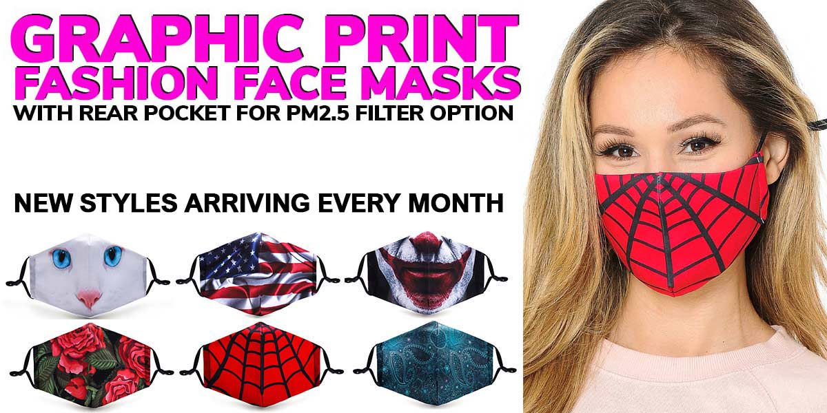 Shop Graphic Print Face Masks
