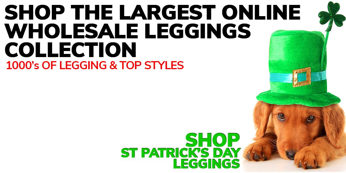 Shop Saint Patricks Day Leggings