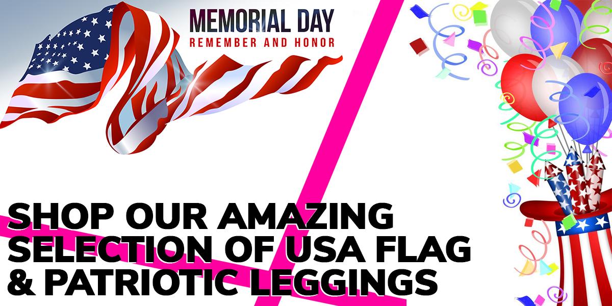 Shop USA Flag Wholesale Leggings