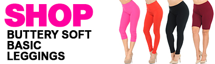 Shop Wholesale Buttery Soft Basic Leggings