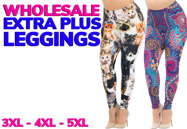 Shop Extra Plus Size Leggings