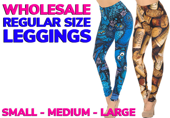 Shop Regular Size Leggings