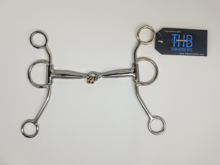 Titan Titanium Bits Copper Rings Shank Western Bit