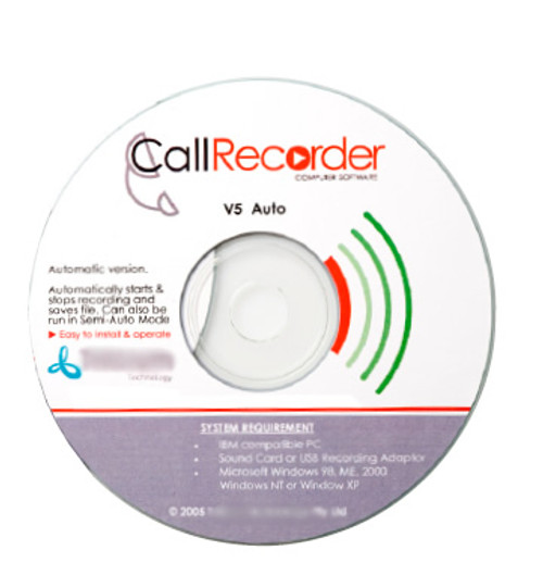 Phone Call Recorder Software (Manual)