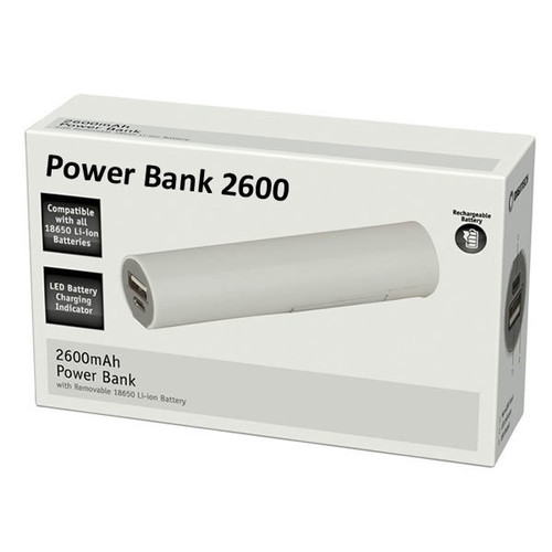 USB Power Bank 2600 - Small