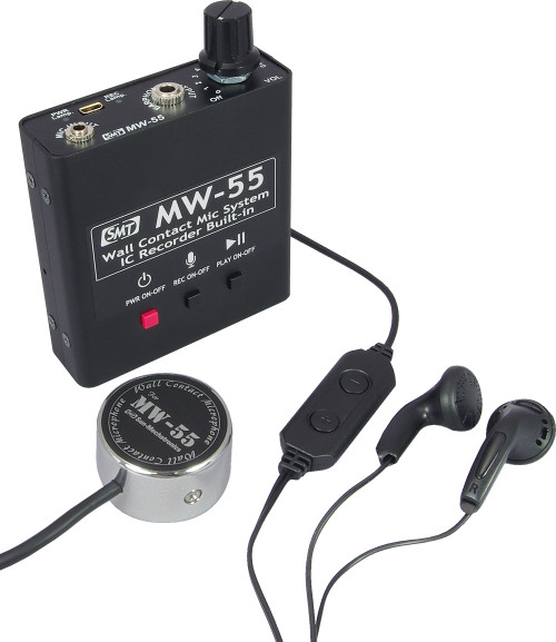 MW-55 - Contact Microphone with Built in IC Recorder