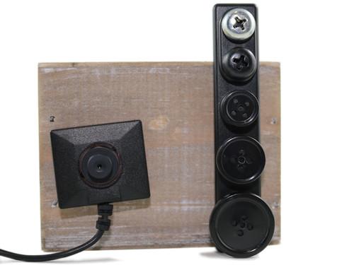 LawMate® BU-13CCK  Button Camera Kit  (Monochrome)