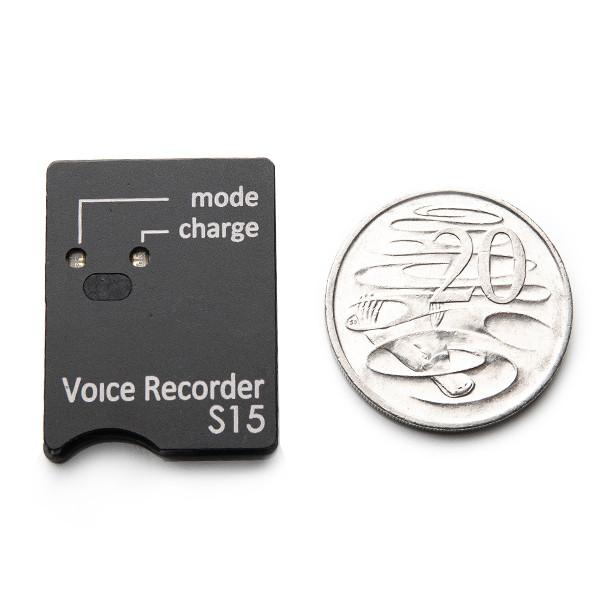 BUG Mini S15E Audio Voice Recorder