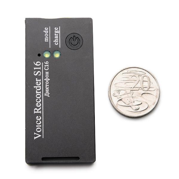 BUG-Mini S16E Covert Voice Recorder