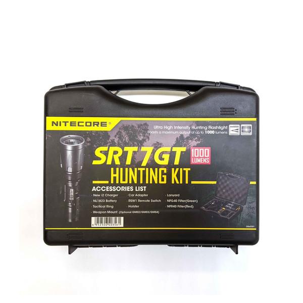 NiteCore SRT7GT Tactical Kit - 1000 Lumen Long range