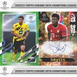 2020-21 Topps Chrome UEFA Champions League Soccer Cards Checklist