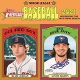 2021 Topps Heritage Minor League Baseball Cards