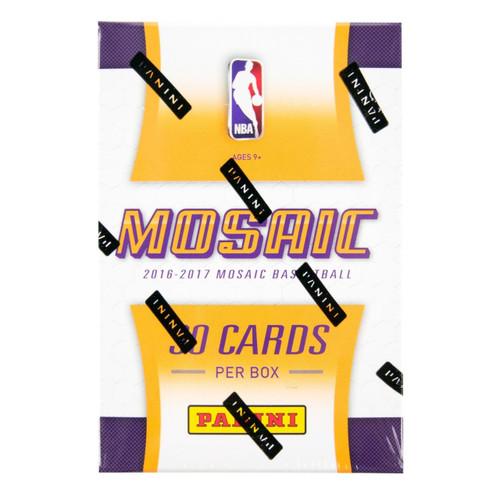 2016-17 Panini Prizm Basketball Mosaic 10 Box Case