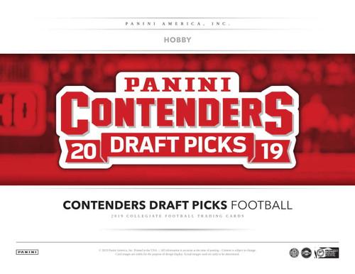 2019 Panini Contenders Draft Picks Football Hobby 12 Box Case